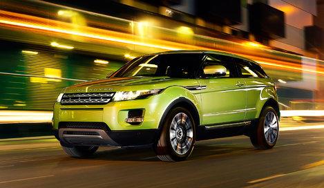 Range Rover Evoque (Рендж Ровер Эвок ) - стоимость, цена.