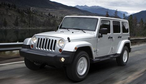Фото Jeep Wrangler Unlimited 5-дверный внедорожник, модельный ряд 2011г