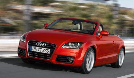Фото Audi TT родстер, модельный ряд 2010г