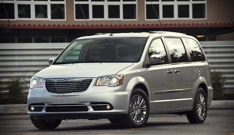 Фото Chrysler Grand Voyager минивэн, модельный ряд 2011г
