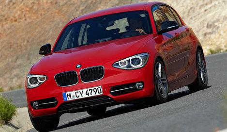 Фото BMW 1 Series 5-дверный хэтчбек, модельный ряд 2011г