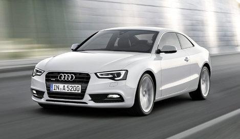 Фото Audi A5 купе, модельный ряд 2011г