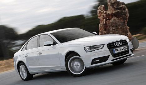 Фото Audi A4 седан, модельный ряд 2012г