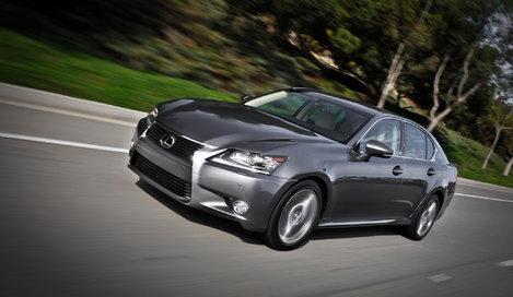 Фото Lexus GS седан, модельный ряд 2012г