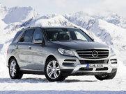 Mercedes-Benz ML5-дверный кроссовер, поколение г.
