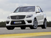 Описание Mercedes-Benz ML AMG 5-дверный кроссовер поколение 2014г