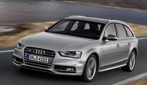 Фото Audi S4 Avant универсал, модельный ряд 2012г