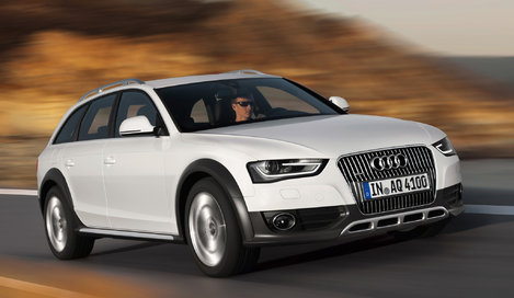 Фото Audi A4 Allroad универсал, модельный ряд 2012г