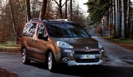 Фото Peugeot Partner Tepee минивэн, модельный ряд 2012г