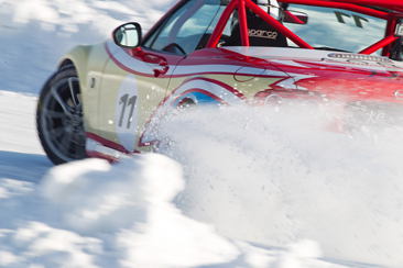 Mazda MX-5 Ice Race 2013