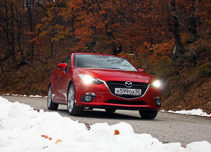 Тест-драйв новой Mazda 3 2014 2,0 АКПП - полная противоположность