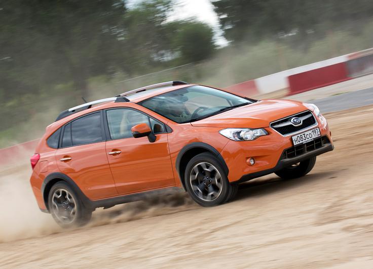 Тест-драйв Subaru XV 2,0 АКПП - оранжевое настроение