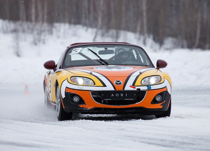 Mazda MX-5 Ice Race 2014 - русское гостеприимство