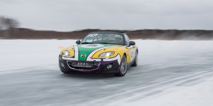 Фото Mazda MX-5 Ice Race 2014 Россия 1 Гагарин