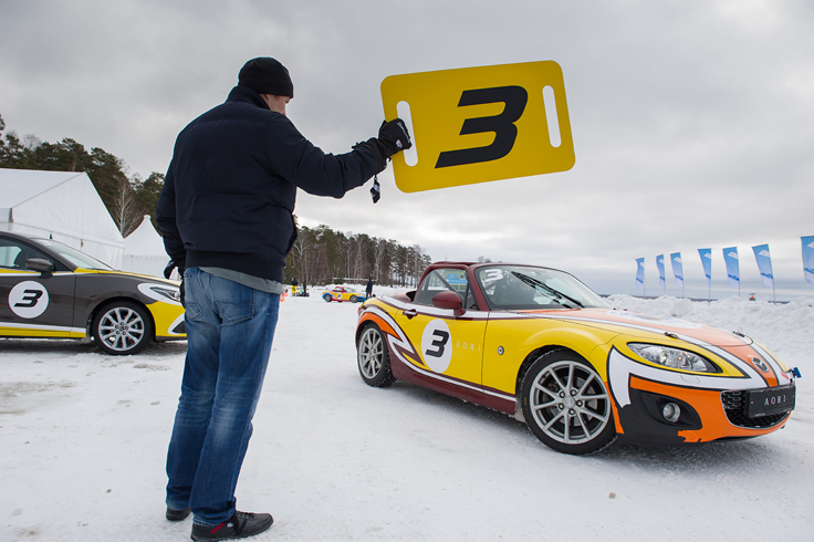 Фото Mazda MX-5 Ice Race 2014 Aori Алексей Соколов
