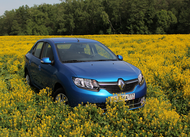Видео тест-драйв Renault Logan 2014 1,6 МКПП - слоган правильной экономии