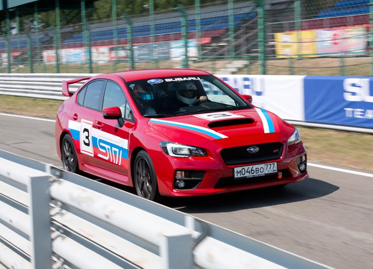Видео тест-драйв Subaru WRX STI 2014-2015 2,5 МКПП