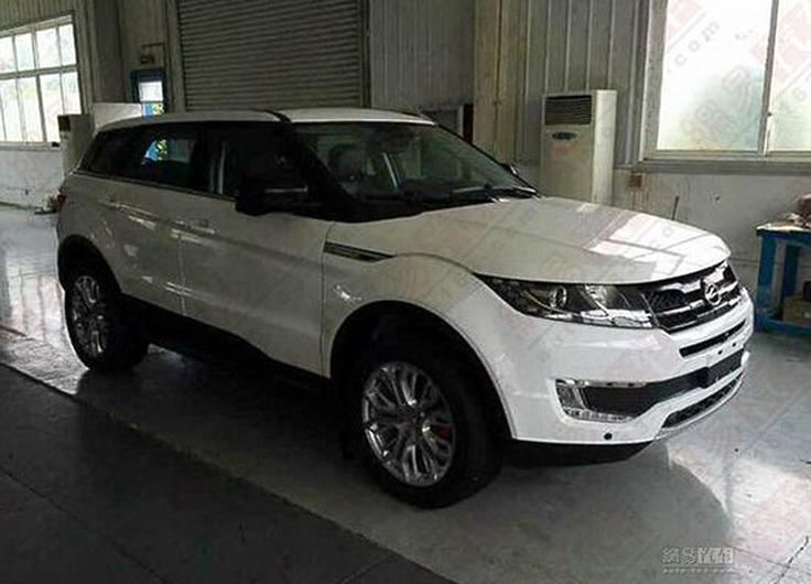 Landwind X7 - Неплохая копия Range Rover Evoque - ЯПлакалъ