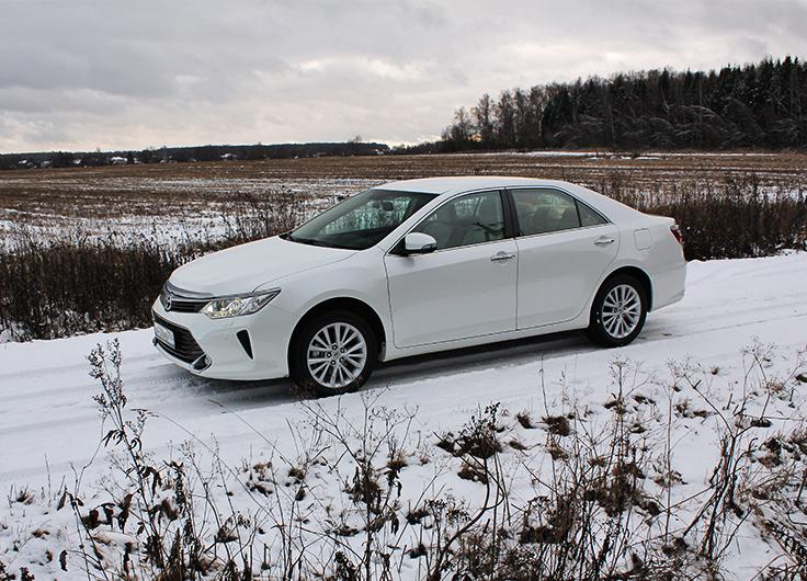 Видео тест драйв Тойота Камри 2015 (Toyota Camry) 2,5 АКПП