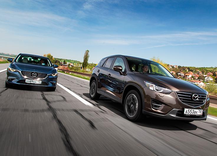 Видео тест драйв Мазда 6 и Mazda CX-5 2015: что изменилось?