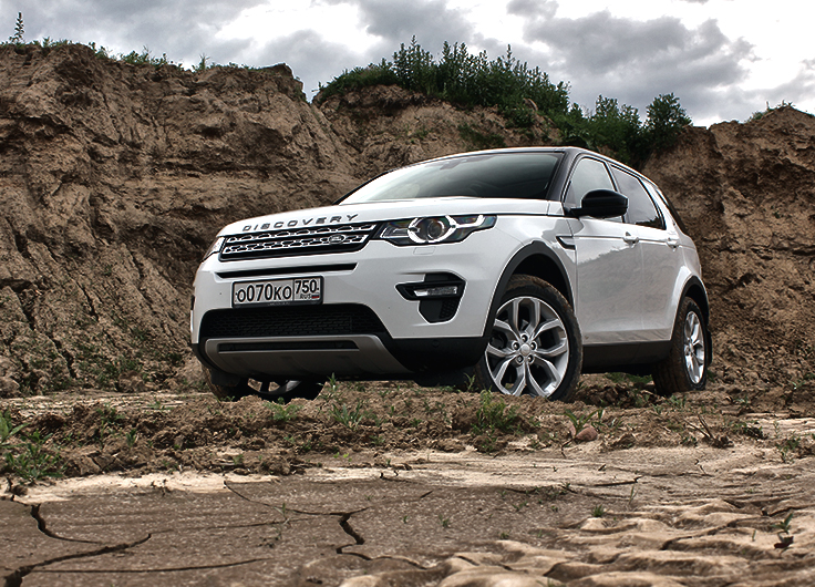Land Rover Discovery Sport дизель видео тест драйв 2015