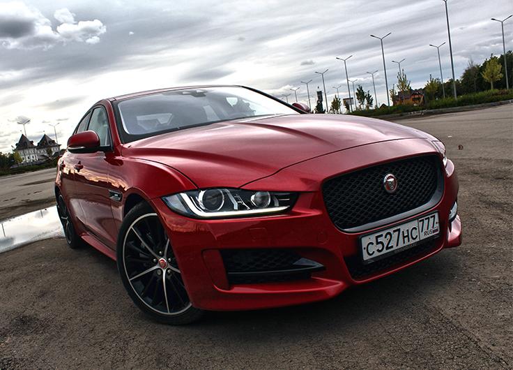 Jaguar XE 2015 тест драйв видео 2,0 (240 л.с.) АКПП