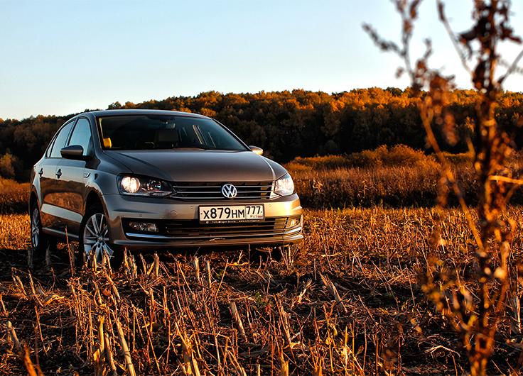 Volkswagen Polo Sedan 2015 видео тест драйв