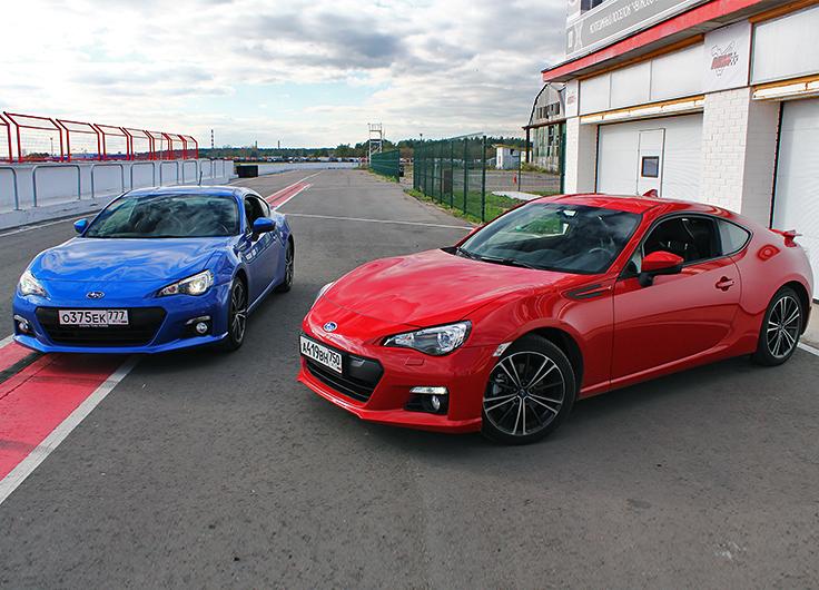 Subaru BRZ 2015 видео тест драйв