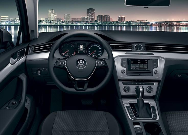 2016 for Volkswagen passat 2017 interior