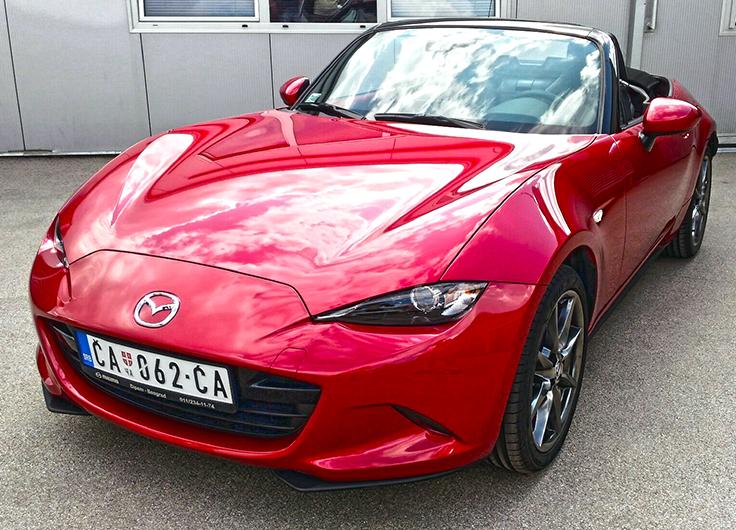 Видео тест драйв Mazda MX-5 2016