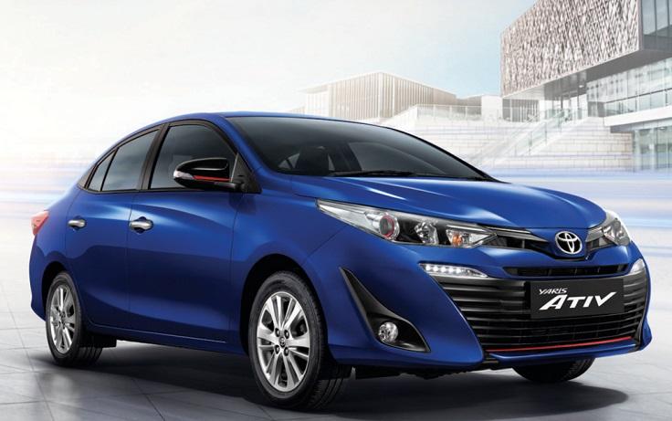 Новый Toyota Yaris Ativ станет конкурентом Фольксваген Поло седану