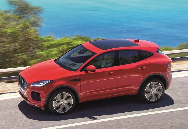 Цены нового Jaguar E-Pace