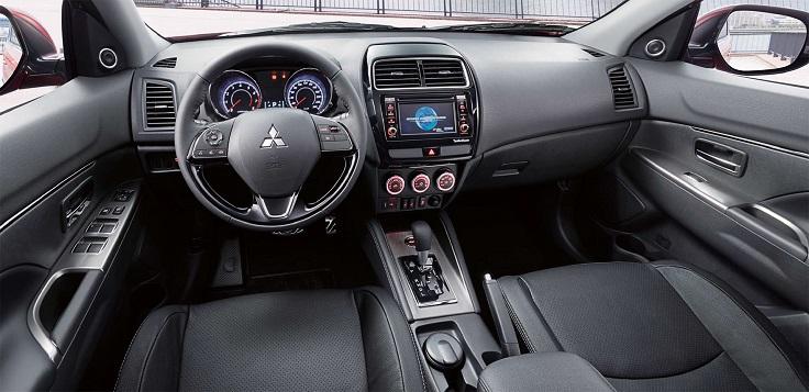 Появилось фото салона Mitsubishi ASX для России