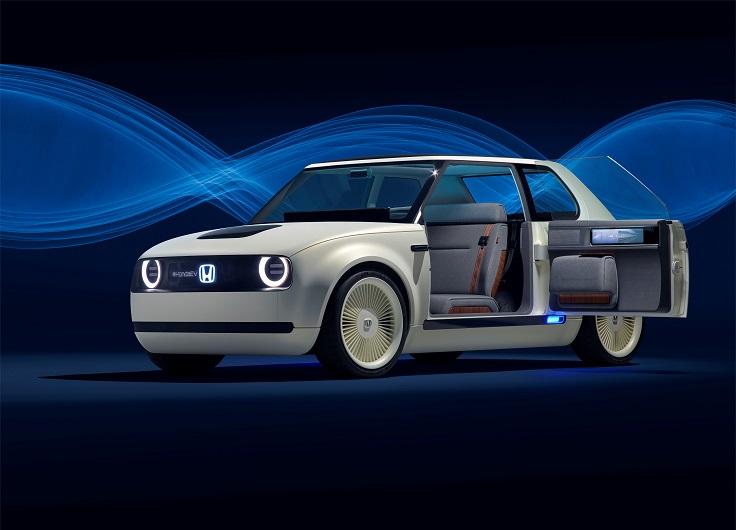 Серийный электрокар Honda Urban EV появится в 2019 году