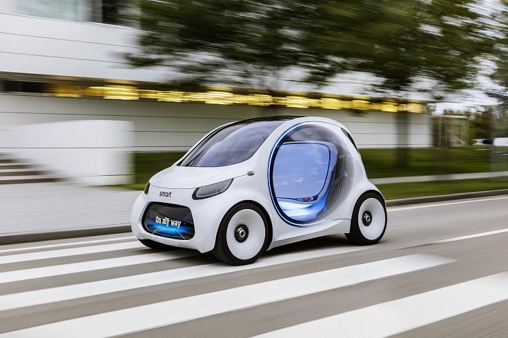 Обалденный микромобильчик от smart - всё для будущего!