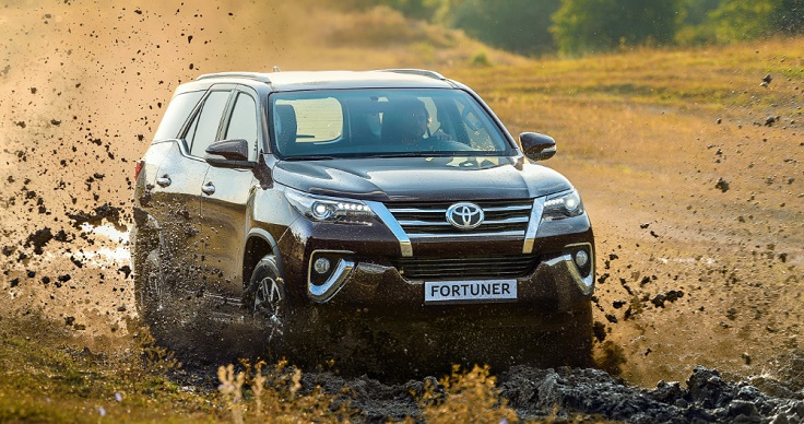 Цены и видео нового Тойота Фортунер