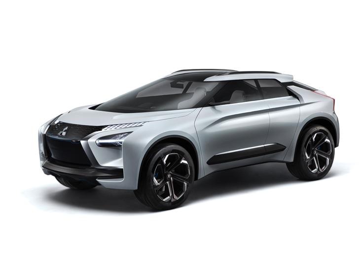 Mitsubishi e-EVOLUTION дебютировал в Токио