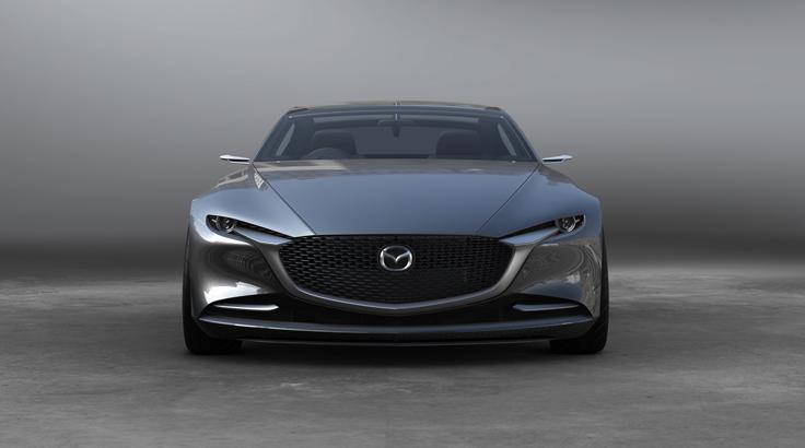 Мазда представила большой купе-седан Vision Coupe