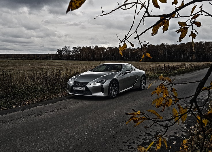 Тест-драйв Lexus LC 500 2017-2018