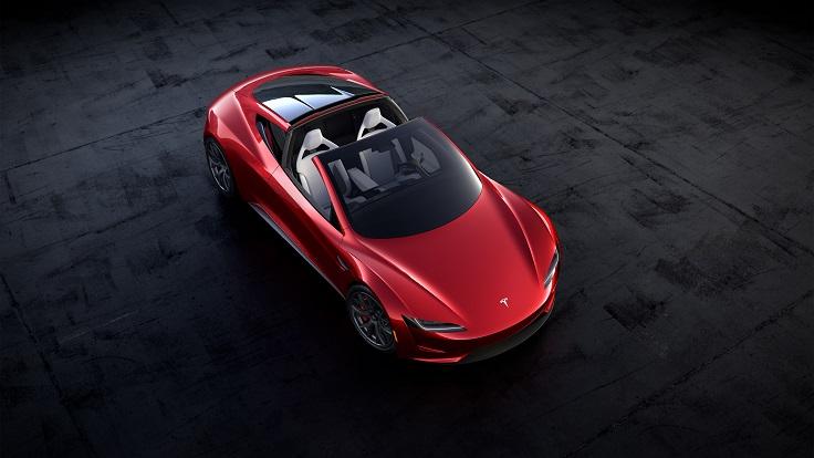 Представлен новый Тесла Родстер с рекордной динамикой