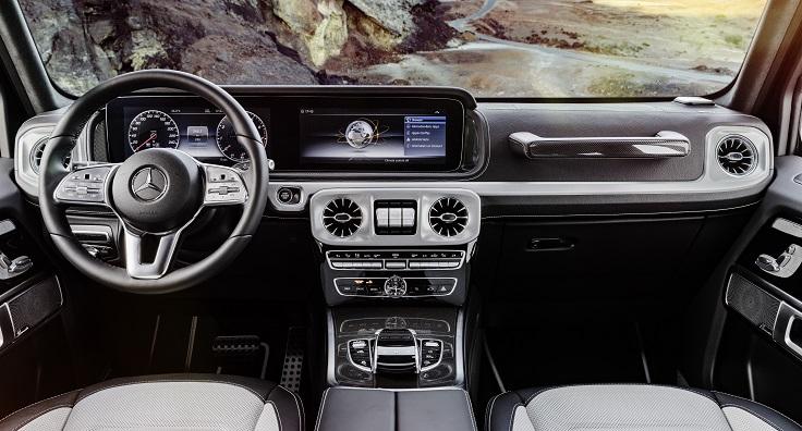 Новый Mercedes G-Класса 2018 показали изнутри
