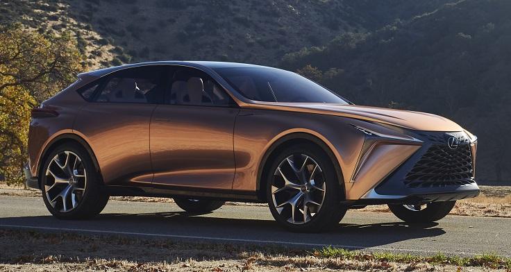 Lexus сделал ещё один большой кроссовер, LF-1