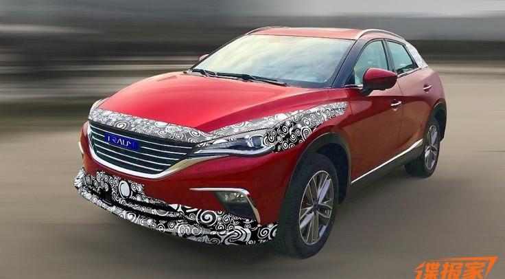 Китайцы клонировали Mazda CX-4
