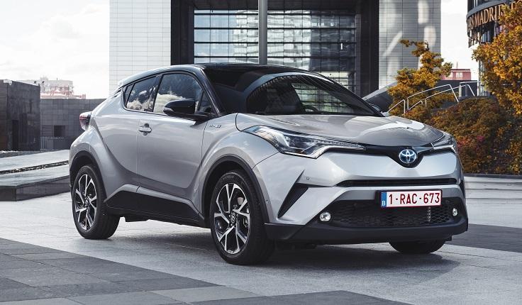 Новый Toyota C-HR 2018 приедет в Россию