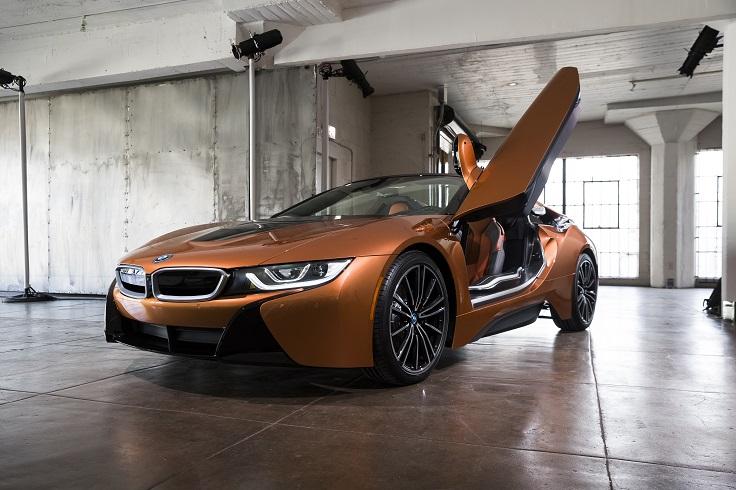 Новые BMW i8 купе и родстер получили ценник