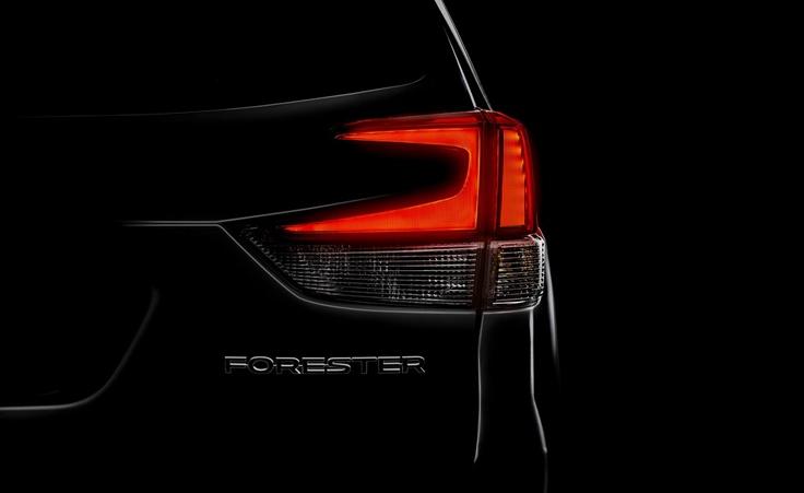 Subaru Forester показал ляжку
