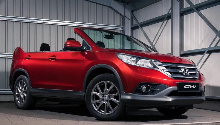Кабриолет Honda CR-V появится в России весной