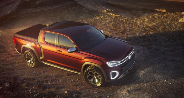 Новый VW Amarok порадовал дизайном, но не ценой