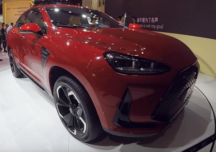Как вам BMW X6M по цене УАЗа? Новый Wey VV7 2018
