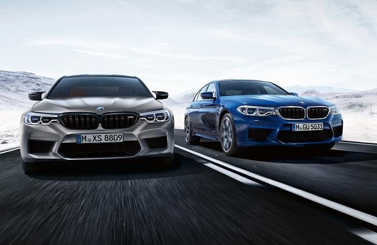 Мерседес не нужен, когда есть BMW M5 Competition